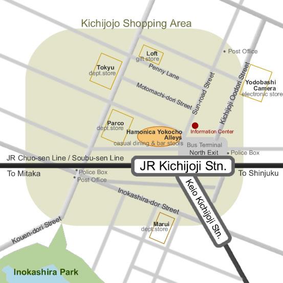 Take a retro-style stroll in kichijoji's harmonica alley, tokyo.