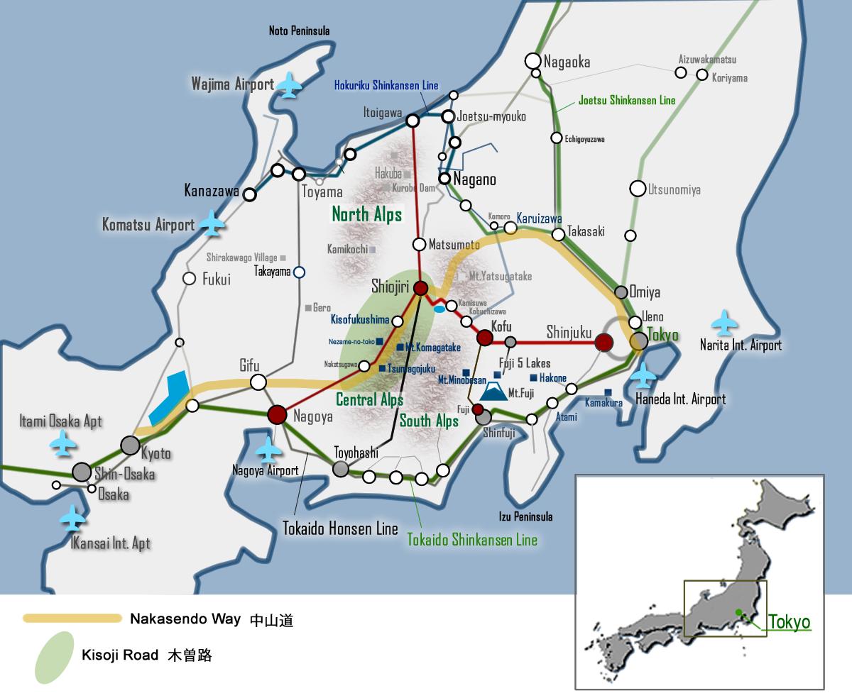 Visit Kisoji on the Nakasendo Way digijoho TOKYO