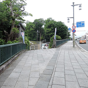 Odawara Castle Park Back Entrance